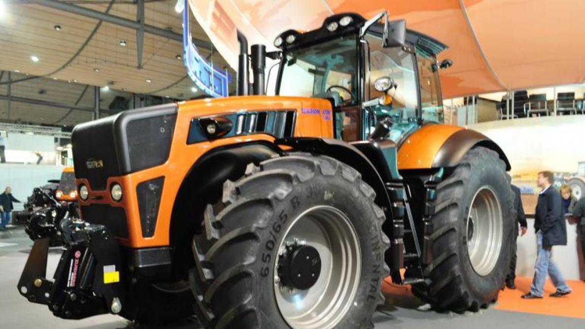 Le terrion aborde le march belge du tracteur - Image tracteur ...