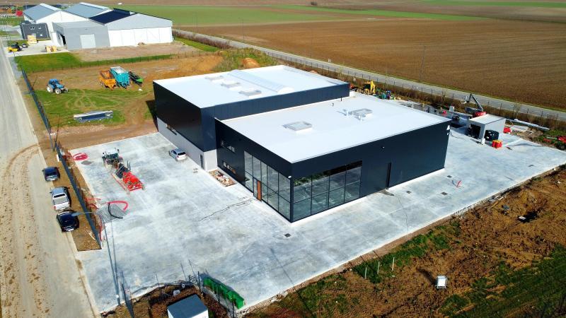 Depuis le début du mois de mars, Agrigeer a pris ses quartiers dans son nouveau bâtiment situé dans le zoning de Geer.
